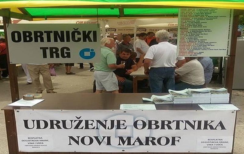 """Obrtnički trg"""" na danu grada Novog Marofa"""