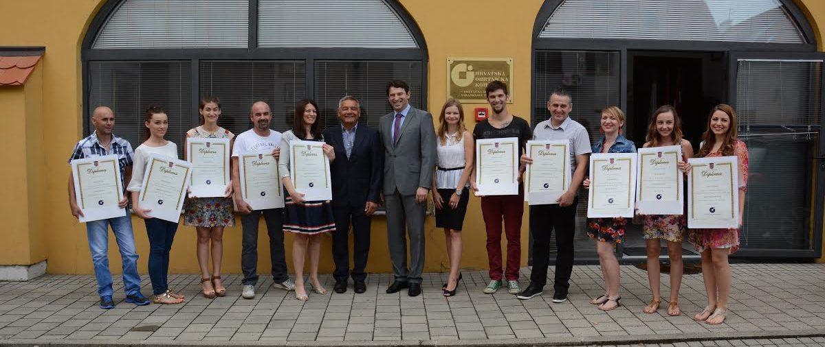 Varaždinska županija bogatija za 13 novih majstora