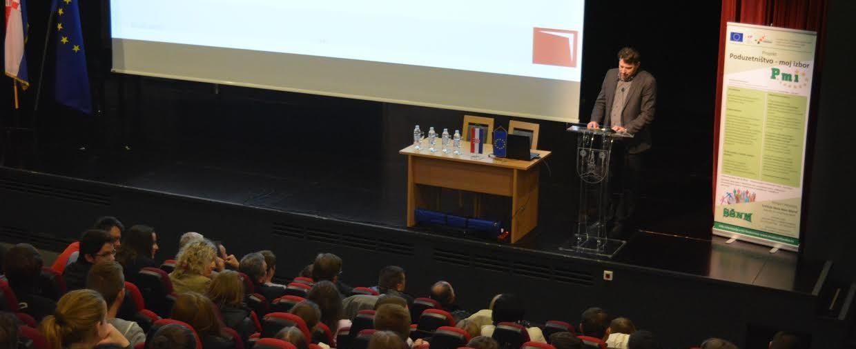 Obrtnička komora Varaždinske županije sudjelovala na Sajmu  poduzetništva i poduzetničkog obrazovanja