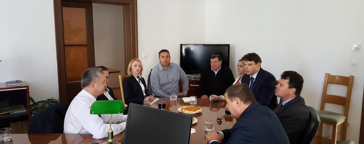 Ministar poduzetništva i obrta Darko Horvat posjetio Obrtničku komoru Varaždinske županije