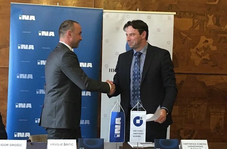 Potpisivanje sporazuma s INA-om