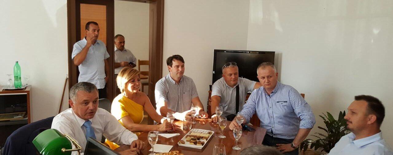 Obrtničku komoru Varaždin posjetio ministar Horvat