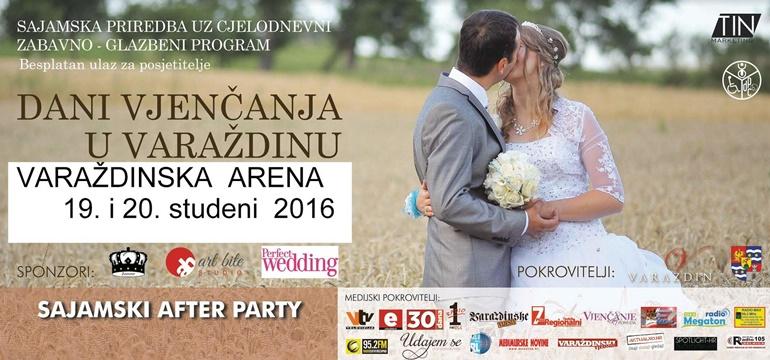 Dani vjenčanja u Varaždinu 2016.