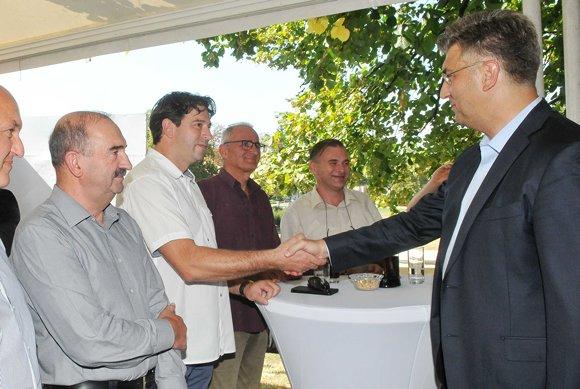 Predsjednik hrvatske Vlade Andrej Plenković posjetio  Špancirfest