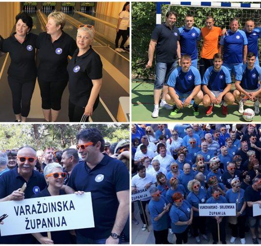 Županijski obrtnici na 11. Obrtničkim sportskim igrama u Malom Lošinju