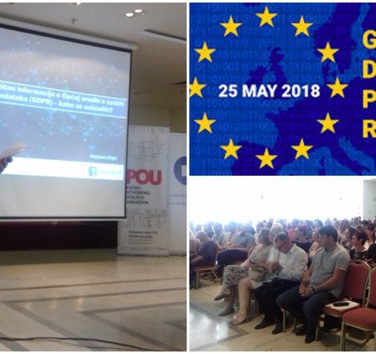 Još jedan termin Seminara o GDPR-u - 29. lipnja u 10 sati