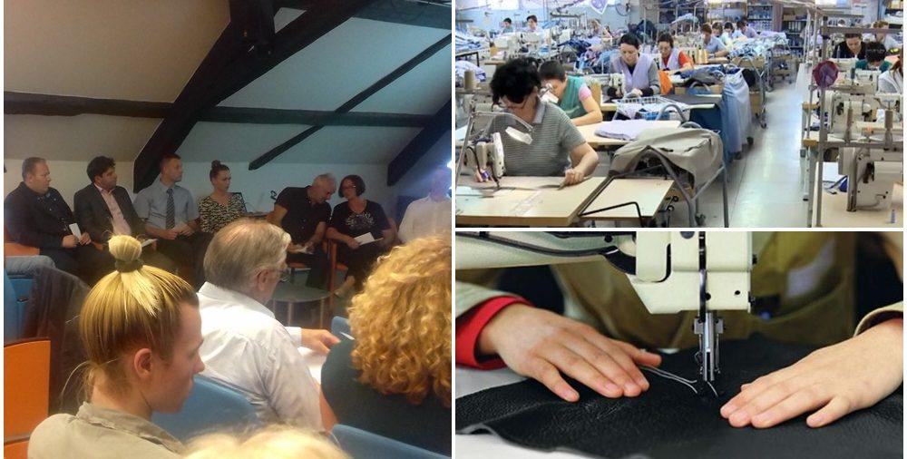 Predsjednik OKVŽ Mario Milak na Okruglom stolu o potrebama obrazovanja za tekstilnu i kožarsku branšu iznio konkretne prijedloge