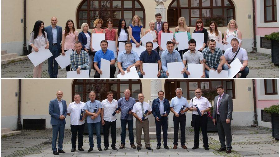 Varaždinska Županija ima 31 novog obrtnika majstora. Predsjednik OKVŽ Mario Milak uručio diplome