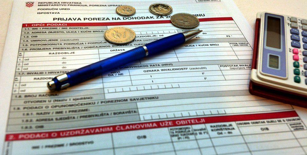 Još manje od dva tjedna za predaju godišnje prijave poreza za 2018. godinu