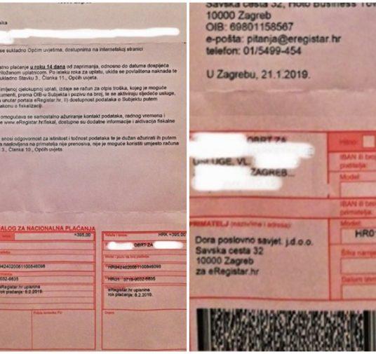 Dobijete li nalog za plaćanje u Elektronički registar - slobodno ga bacite u smeće