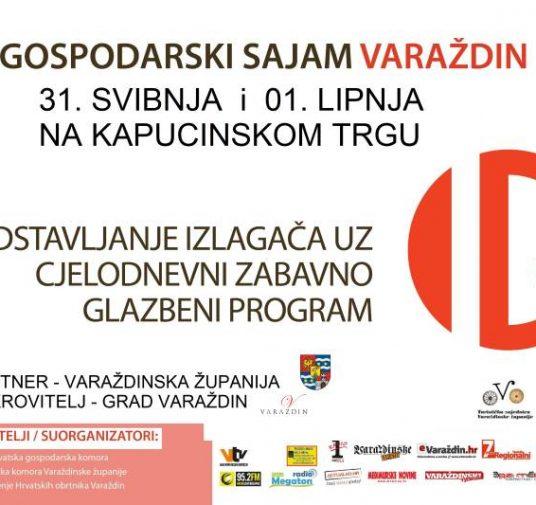 Gospodarski sajam Varaždin, 31.5.-1.6.2019.