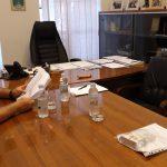 Predsjednik Obrtničke komore sa stradalim obrtnikom Harambašom