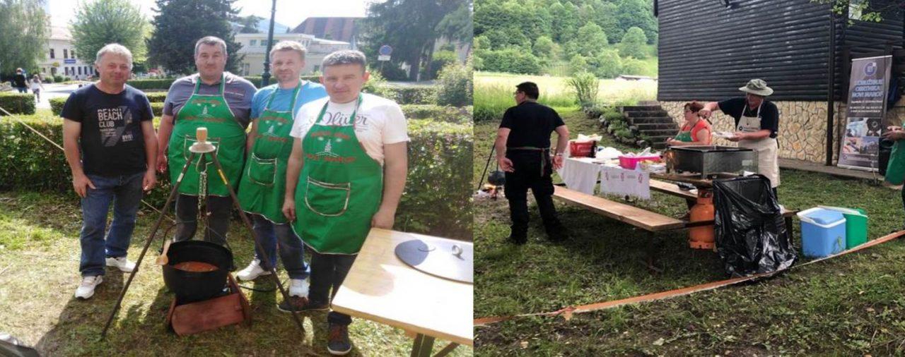 Rimski kotlić i 12. Obrtnički kotlić u Vrbovskom, 1.6.2019.