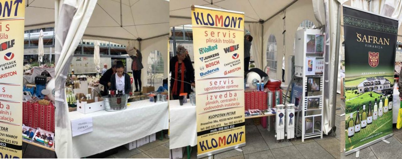 Udruženje obrtnika Novi Marof na 5. Gospodarskom sajmu u Varaždinu