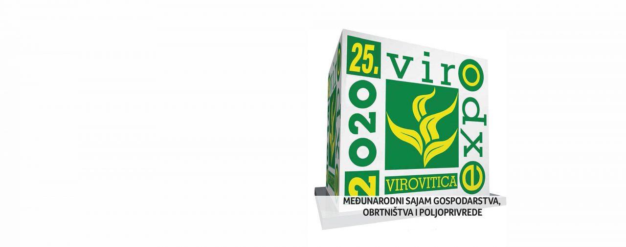 ODGOĐEN VIROEXPO 2020 - 25. MEĐUNARODNI SAJAM GOSPODARSTVA, OBRTNIŠTVA I POLJOPRIVREDE