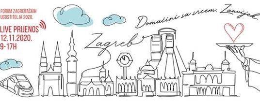 Virtualna konferencija Foruma zagrebačkih ugostitelja 2020. - prijenos uživo iz Hotela Dubrovnik, 12.11.2020. od 9 do 17 sati!